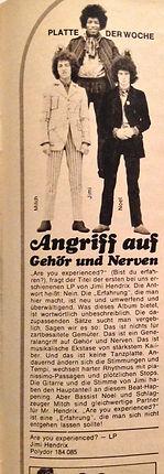 jimi hendrix magazine 1967 / rave june 67