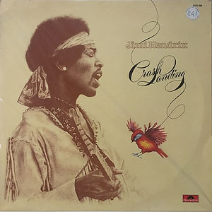 jimi hendrix vinyl album lp / crash landing  1975 / polydor records