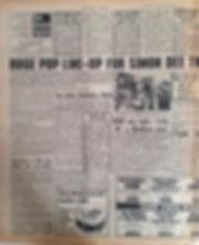 jii hendrix newspaper 1967/ 18/3/67