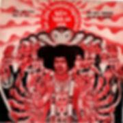 jimi hendrix collector EPvinyls 45r/bold as love EP thailland 1969 MTR Records