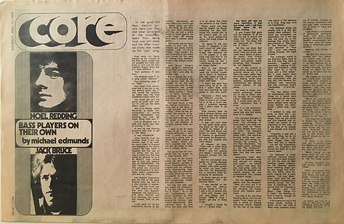 jimi hendrix newspapers 1970 / australia : go set april 11, 1970 / noel redding