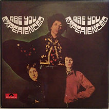 jimi hendrix rotily patrick vinyls/ are you experienced reissue australia  1986