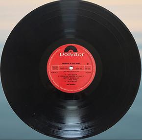 jimi hendrix vinyl album/in the west  nigeria