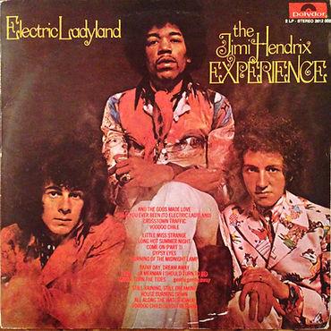 jimi hendrix rotily patrick vinyl/electric ladyland  1st pressing yougoslavia