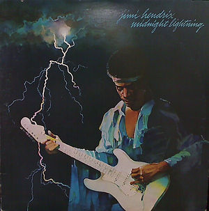 jimi hendrix vinyl album midnight lightning  / 1975