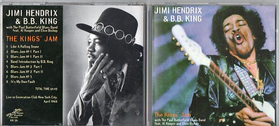 jimi hendrix bootlegs cds/the kings'jam live in generation club new york city/april 7 1968