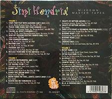 jimi hendrix box cds/mixdown master tapes 3cds 1997