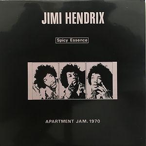 jimi hendrix vinyls bootlegs 1970 / spicy essence / apartment jam. 1970