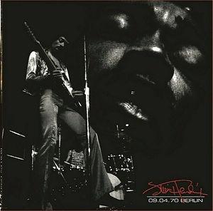 jimi hendrix bootlegs vinyls 1970 /  berlin 09.04.70 2lp