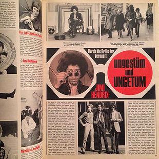 jimi hendrix magazine/legauf 6/67