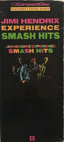 jimi hendrix cd / smash hits usa/ cd 1986