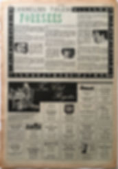 jimi hendrix collector newspaper/top pops 7/11/1967 fan club jimi hendrix