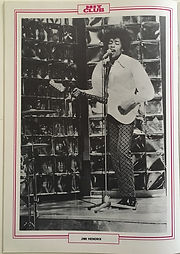 jimi hendrix magazines 1968 /hit club may 1968
