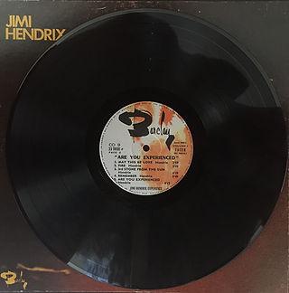 jimi hendrix box vinyl 1970 / are you experienced :  jimi hendrix cof-9 france