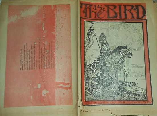 jimi hendrix newspapers/the great speckled bird atlanta august 16 1968
