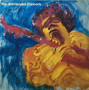 jimi hendrix vinyls album / the jimi hendrix concerts / cbs records spanish