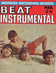 jimi hendrix rotily magazine/ beat instrumental march 1967