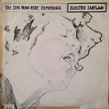 jimi hendrix vinyl album/  elctric ladyland   korea
