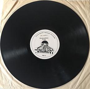 jimi hendrix vinyls radio show /retro rock / side a  1982