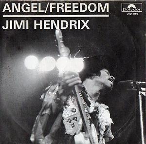 jimi hendrix vinyls singles/angel/freedom holland 1971 polydor