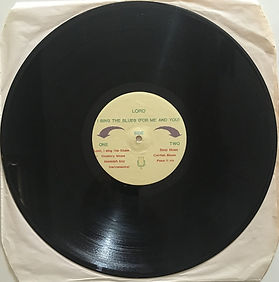 jimi hendrix bootlegs vinyls album/lord i sing the blues