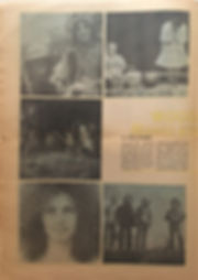 jimi hendrix newspaper 1969/the east village other august 13 1969/woodstock