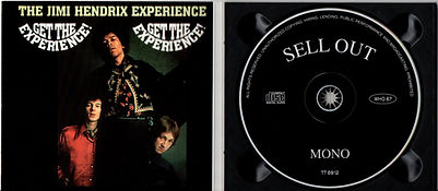 jimi hendrix collector bootlegs cd/get the experience/seel out