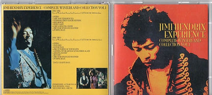 jimi hendrix bootlegs cd/complete winterland collection vol1/2cd