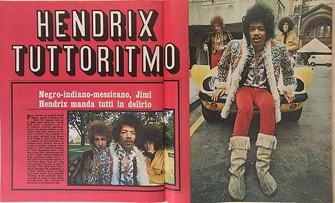 jimi hendrix magazines collector/ giovani  december 7, 1967