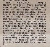 jimi hendrix  newpapers 1967/melody maker march 18 1967