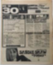 jimi hendrix newspaper/top ten lps disc music echo 27/1/68