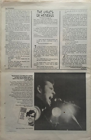 jimi hendrix newspaper 1969/changes july 1 1969/part 2