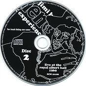 jimi hendrix cd bootleg /  disc 2  /  live at the royal albert hall