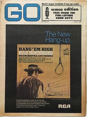 jimi hendrix newspaper/go july 5 1968