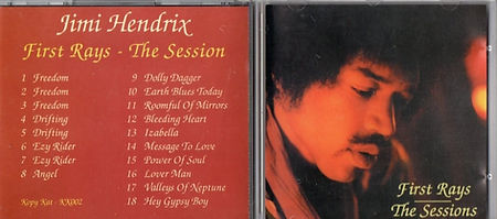 jimi hendrix bootlegs cd / first rays the session