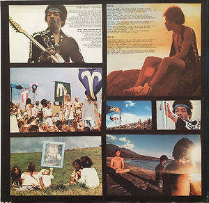 jimi hendrix vinyls album/rainbow bridge 1971 germany