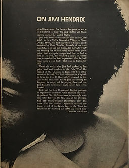 part 1 : on jimi hendrix /black music 1969