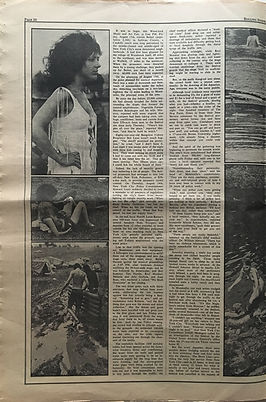 jimi hendrix newspaper 1969/ part 5  rolling stone september 20 1969
