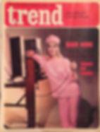 jimi hendrix rotily magazine/  trend 21/1/1967