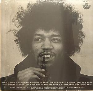 jimi hendrix vinyl bootleg albums/2lps blues