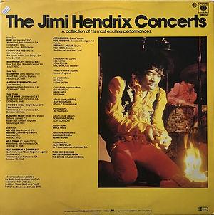 jimi hendrix vinyls album / the jimi hendrix concerts / cbs records greece