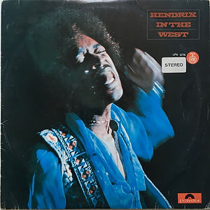 jimi hendrixvinyl album lp/in the west  1972 yugoslavia