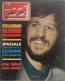 jimi hendrix magazines 1970 death :ciao 2001 / november 11, 1970