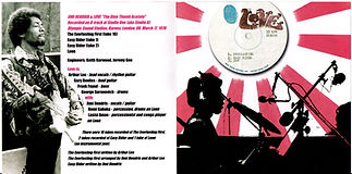 jimi hendrix collector bootlegs cd/booklet jimihendrix plus love