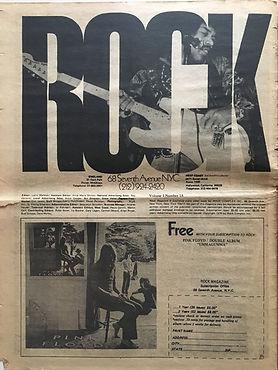 jimi hendrix newspapers 1970 / rock may 11, 1970