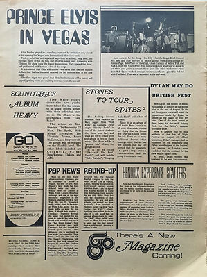 jimi hendrix newspaper 1969/ go august 8 1969: hendrix experience scatters