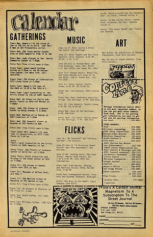 jimi hendrix newspapers 1970 / street journal june 19, 1970