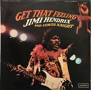 jimi hendrix vinyls albums lps/get that feelin / 1968