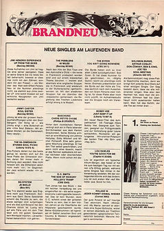 jimi hendrix magazine 1968 / pop  september 1968