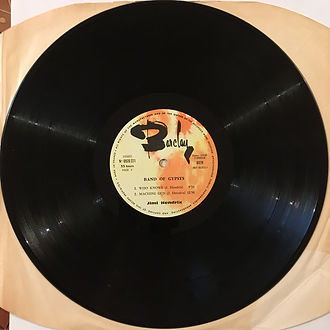 jimi hendrix rotily vinyls collector /band of gypsys france 1970